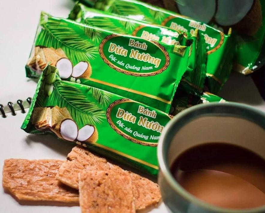bánh dừa nướng - đặc sản Đà Nẵng làm quà