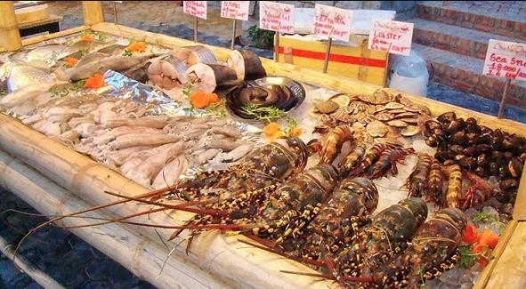 hải sản tươi ngon đà nẵng